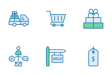 Shopping And Ecommerce Icon Pack