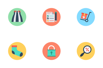 Shopping And ECommerce 2 Icon Pack