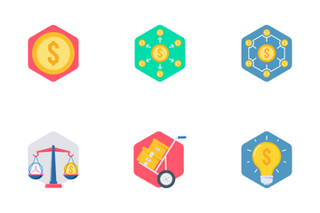 Shopping And Financial Part 1 Icon Pack