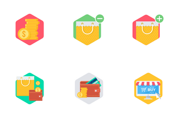Shopping And Financial Part 2 Icon Pack