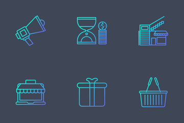 Shopping And Retail Icon Pack