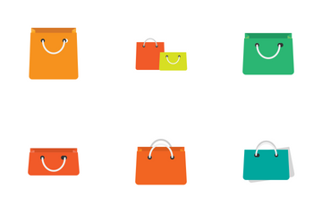 Shopping Bags Icon Pack