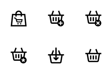Shopping Cart Icon Pack