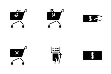 Shopping Dark Icon Pack