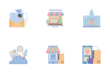 Shopping & Delivery Icon Pack