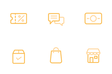 Shopping & E-Commerce Icon Pack