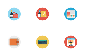 Shopping & E Commerce Icon Pack