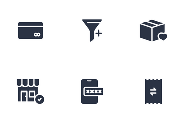 Shopping & Ecommerce Icon Pack