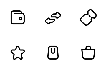 Shopping & Ecommerce Icon Pack