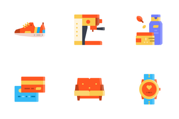 Shopping Elements Icon Pack