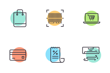 Shopping Essentials Icon Pack