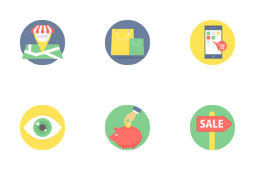 Shopping Icons Part 2 Icon Pack