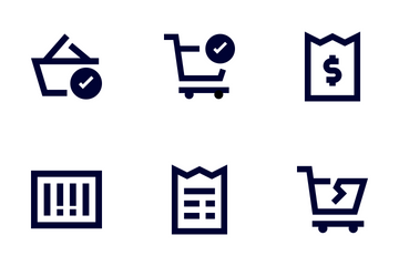 Shopping Line Icon Pack