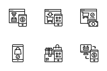 Shopping Online Icon Pack