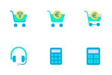 Shopping Vol - 1 Icon Pack
