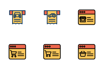 Shopping Vol - 2 Icon Pack