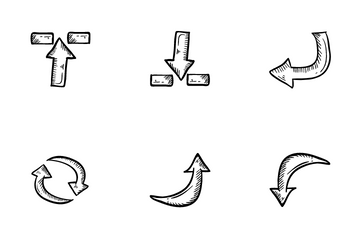 Sign Arrows Icon Pack