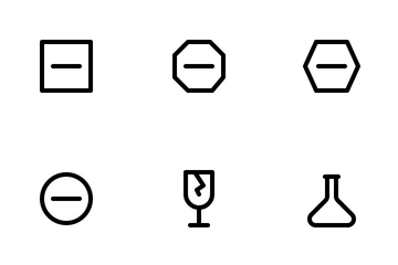 Sign Collection Icon Pack