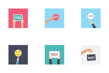 Sign Holdings Icon Pack