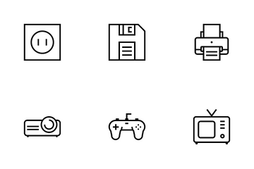 Simple Gadge Icon Pack