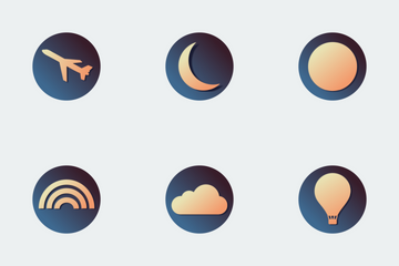 Skycons Icon Pack