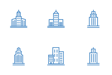 Skyscrapers Icon Pack
