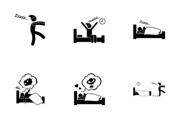 Sleeping Dream Icon Pack
