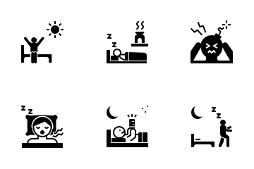 Sleepless Night Icon Pack