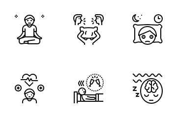 Sleepless Night Icon Pack