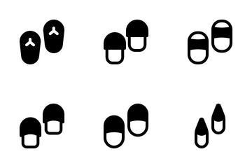 Slipper Sandal Icon Pack