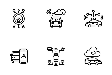 Smart Cars Icon Pack