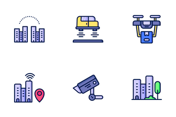 Smart City Icon Pack