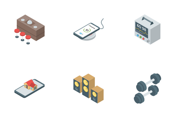 Smart Home And Kitchen Appliance Icon Pack