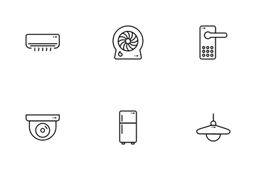 Smart Home IOT Icon Pack