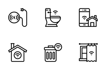 Smart Home Line Icon Pack