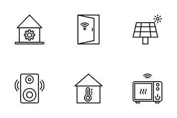 Smart Home Vol 1 Icon Pack