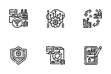 Smart Industry Icon Pack