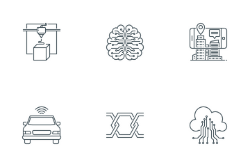 Smart Technology Icon Pack