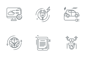 Smart Technology Vol - 1 Icon Pack
