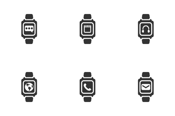 Smart Watch Icon Pack