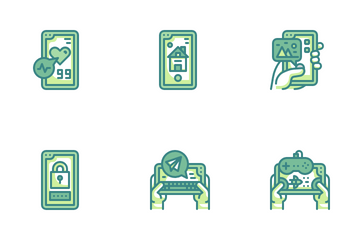 Smartphone Application Icon Pack