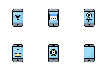 Smartphone Applications Icon Pack