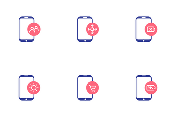 Smartphone Interface Icon Pack