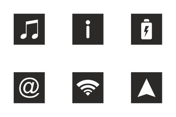 Smartphone Menu  Icon Pack