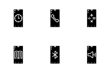 Smartphone States Icon Pack