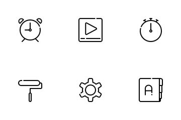 Smartphone UI Icon Pack