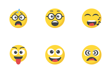 Smiley 5 Icon Pack