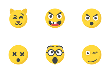 Smiley 6 Icon Pack
