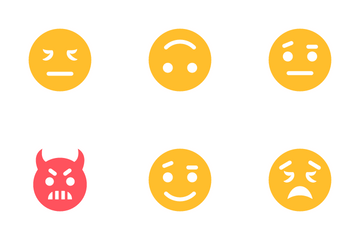 Smiley Face 2 Icon Pack