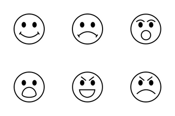Smiley Vector Icons Icon Pack